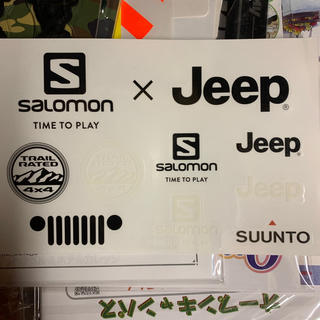 SALOMON - サロモン SALOMON×Jeep コラボステッカー