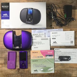ウォークマン(WALKMAN)のSONY(ソニー) Walkman NW-S764K(ポータブルプレーヤー)
