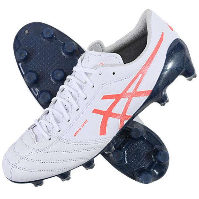 asics(アシックス)のASICS DS LIGHT X-FLY4 ホワイト 24 25 26 27 スポーツ/アウトドアのサッカー/フットサル(シューズ)の商品写真