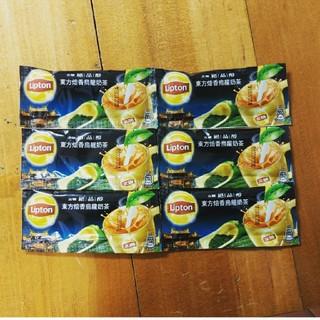 ユニリーバ(Unilever)の台湾リプトンウーロン茶ミルクティー6個(茶)