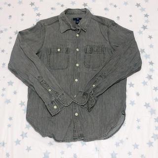 ギャップ(GAP)の(19030)ギャップ シャツ グレー XXSサイズ(シャツ)