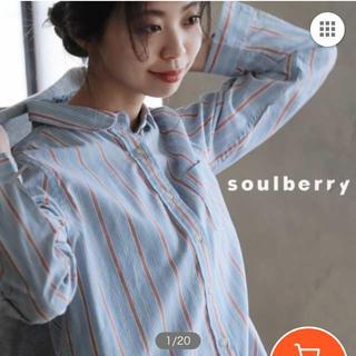 ソルベリー(Solberry)のソウルベリー シャツ 3L soulberry(シャツ/ブラウス(長袖/七分))
