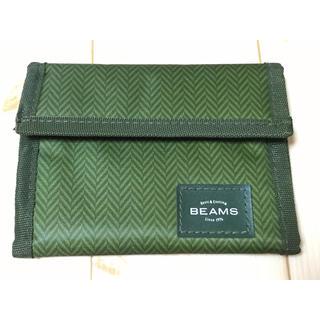 ビームス(BEAMS)の【BEAMS】二つ折ウォレット(折り財布)