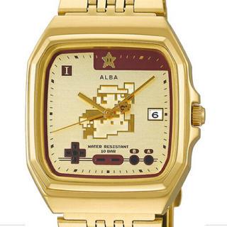 アルバ(ALBA)のセイコーアルバ スーパーマリオ WEB限定 メンズ 腕時計 クオーツ ゴールド(腕時計(アナログ))