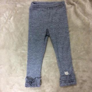 ウィルメリー(WILL MERY)の丸高衣料 女の子用レギンス 90センチ グレー(パンツ/スパッツ)