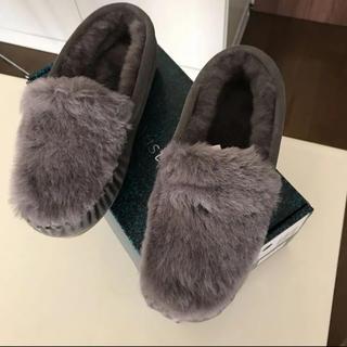 エミュー(EMU)の[新品]EMU エミューモカシン チャコールグレー(スリッポン/モカシン)