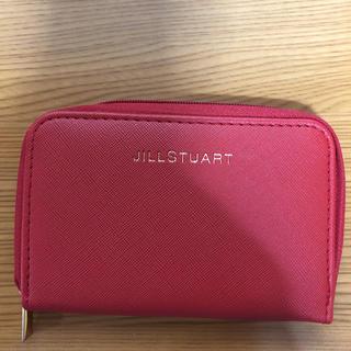 ジルスチュアート(JILLSTUART)のジルスチュアート ミニ財布 JILLSTUART 赤(コインケース/小銭入れ)