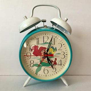 Disney - リトルマーメイド☆手巻き 目覚まし時計