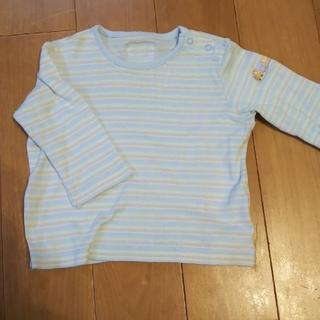 ミキハウス(mikihouse)の子供服 ミキハウス ボーダー ロンT 70サイズ(シャツ/カットソー)