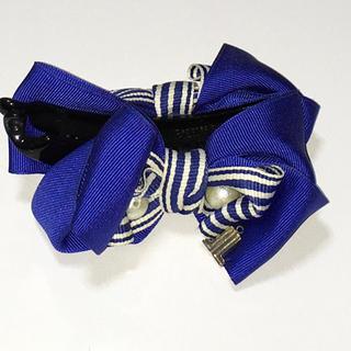 ランバンオンブルー(LANVIN en Bleu)のランバン オン ブルー  バレッタ(バレッタ/ヘアクリップ)