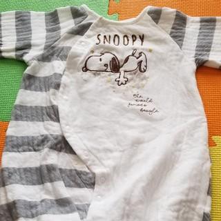 スヌーピー(SNOOPY)のベビー服(カバーオール)