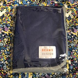 ビームス(BEAMS)の【新品】ビームスデザイン・ブランケット ひざ掛け(毛布)