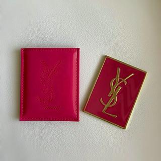 イヴサンローランボーテ(Yves Saint Laurent Beaute)の新品 YSLケース付きミラー(ミラー)