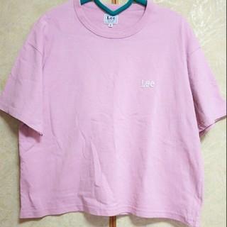 Lee - Lee Tシャツ ピンク