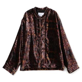 トーガ(TOGA)のTOGA VIRILIS 19AW Velvet print shirt(シャツ)