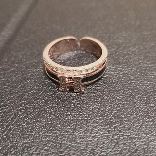 HERMES リング 指輪 ノベルティ(リング(指輪))