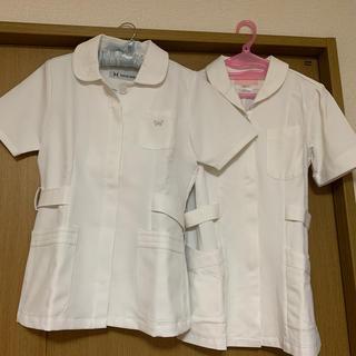 ハナエモリ(HANAE MORI)の白衣 ケーシー ソワンクレエ ハナエモリ スクラブ 看護師 ナース服 実習服(その他)