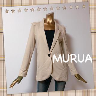 ムルーア(MURUA)のMURUA ★ 大人綺麗 シンプル 無地 細身 テーラードジャケット(テーラードジャケット)