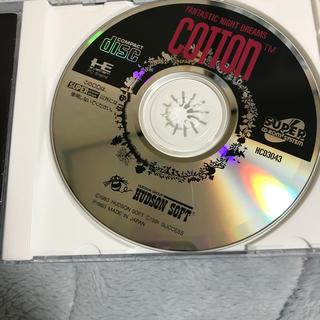 エヌイーシー(NEC)のPCエンジン コットン中古販売 ディスクのみ(家庭用ゲームソフト)