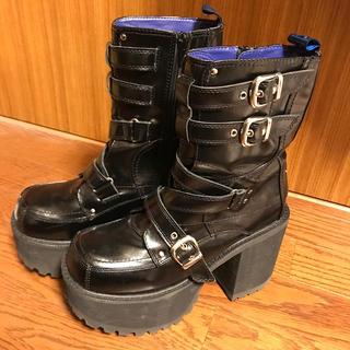 ヨースケ(YOSUKE)のヨースケ 厚底ブーツ(ブーツ)