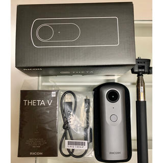 リコー(RICOH)のRICOH THETA V 360度カメラ メタリックグレー 即日発送可(その他)