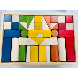 ボーネルンド(BorneLund)の【ふみ様 専用】ボーネルンド BorneLund オリジナル積み木 カラー(積み木/ブロック)