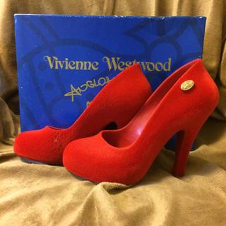 ヴィヴィアンウエストウッド(Vivienne Westwood)のVivienne Westwood melissa パンプス 赤 レッド(ハイヒール/パンプス)
