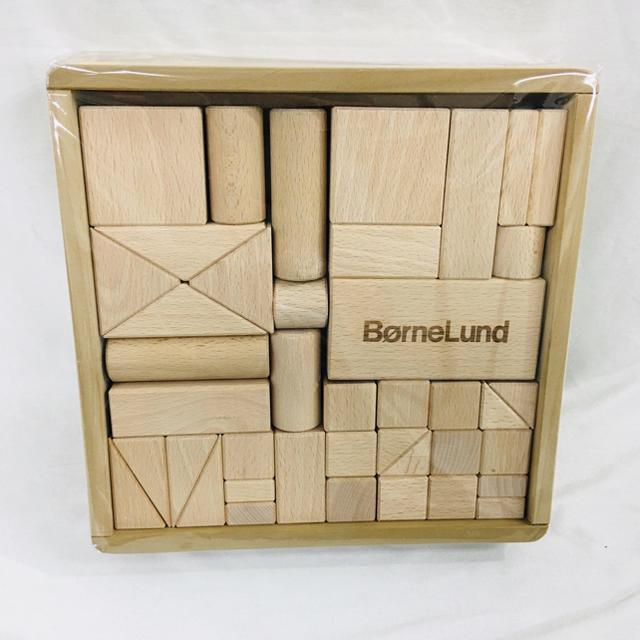 BorneLund(ボーネルンド)のボーネルンド BorneLund オリジナル積み木S キッズ/ベビー/マタニティのおもちゃ(積み木/ブロック)の商品写真