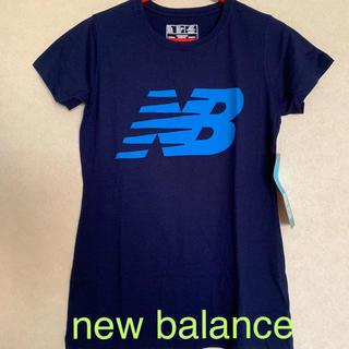 ニューバランス(New Balance)のnew balance ニューバランス レディースTシャツ(Tシャツ(半袖/袖なし))