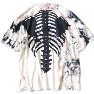 キャピタル(KAPITAL)のkapital タイダイ bone Tシャツ(Tシャツ/カットソー(半袖/袖なし))