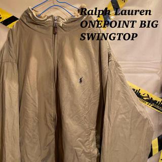 ラルフローレン(Ralph Lauren)のラルフローレン ワンポイント 刺繍 ビッグ スウィングトップ ブルゾン 古着(ブルゾン)