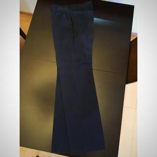 タケオキクチ(TAKEO KIKUCHI)のタケオキクチ メンズ パンツ スラックス ネイビー サイズ3 ストライプ(スラックス)