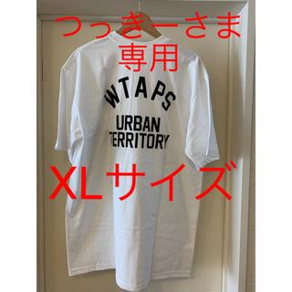 ダブルタップス(W)taps)のwtaps 18aw wut tシャツ spot 白 XLサイズ(Tシャツ/カットソー(半袖/袖なし))