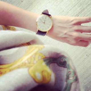イエナ(IENA)のヌートリア様 辺見えみりさん愛用  オリエント 腕時計(腕時計)