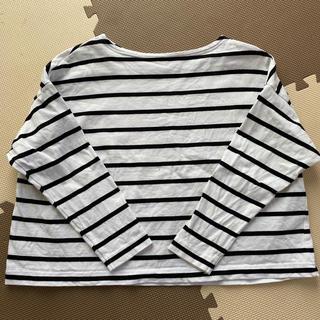 ジーユー(GU)のGU 長袖 ボーダーTシャツ(Tシャツ(長袖/七分))