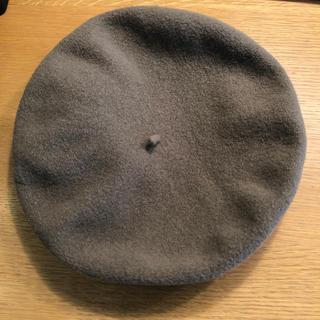 マーガレットハウエル(MARGARET HOWELL)の【お値下げ】MH L ベレー帽(ハンチング/ベレー帽)