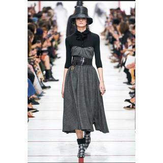 クリスチャンディオール(Christian Dior)のレア❗️ディオール 最新作 ニットとワンピース セット サイズ36(ロングワンピース/マキシワンピース)