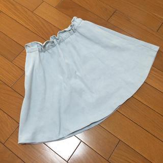 ジーユー(GU)のGU フレアスカート 130(スカート)