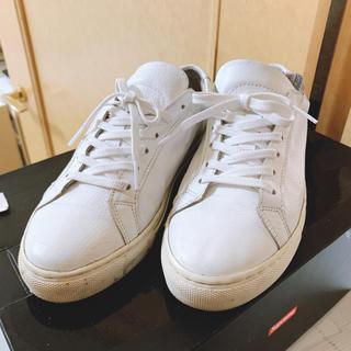 w's sneakers 23.5cm レディース スニーカー 白 本革(スニーカー)