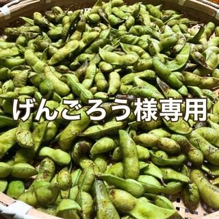 丹波黒大豆枝豆  げんごろう様専用(野菜)