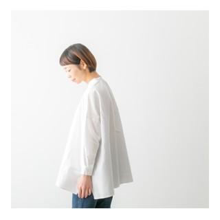 ヴェリテクール(Veritecoeur)のsetto セット スタンドカラーシャツ(シャツ/ブラウス(長袖/七分))
