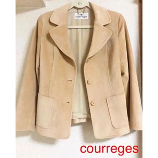 クレージュ(Courreges)の❤︎日本製 ロゴチャーム付き 日本製 courreges ❤︎(テーラードジャケット)