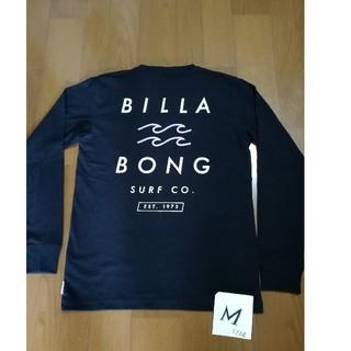 billabong - BILLABONG  サイズM バックロゴロンT 黒M 未使用タグ付