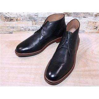 コールハーン(Cole Haan)の定価5万円 コールハーン プレーントゥチャッカブーツ 黒 29,530cm(ブーツ)