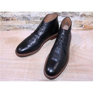 コールハーン(Cole Haan)のビックサイズ コールハーン プレーントゥチャッカブーツ 黒 29,530cm(ブーツ)