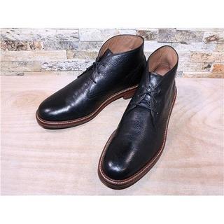 コールハーン(Cole Haan)のコールハーン プレーントゥチャッカブーツ 黒 2828,5cm(ブーツ)