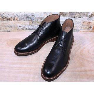 コールハーン(Cole Haan)の新品同様 コールハーン プレーントゥチャッカブーツ 黒 2828,5cm(ブーツ)