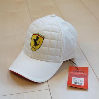 フェラーリ(Ferrari)のスクーデリアフェラーリ帽子(未使用・タグ付き)Scuderia Ferrari(キャップ)