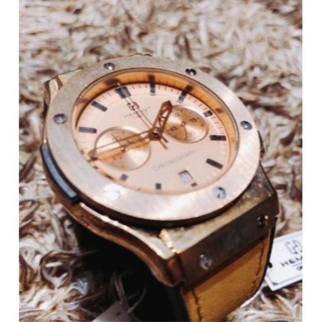 HUBLOT - 新品 送料無料 HEMSUT 高級メンズ腕時計 シリコンバンドの通販 by セールくん's shop
