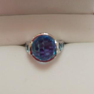 ブルートパーズ指輪(リング(指輪))